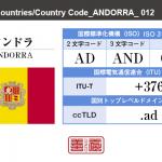 アンドラ/ANDORRA