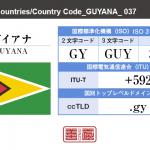 ガイアナ/GUYANA