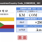 コモロ/COMOROS