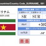 スリナム/SURINAME