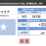 ソマリア/SOMALIA