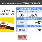 ブルネイ・ダルサラーム/BRUNEI DARUSSALAM