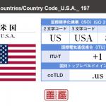 米国/U.S.A.