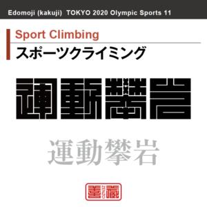スポーツクライミング Sport Climbing 運動攀岩