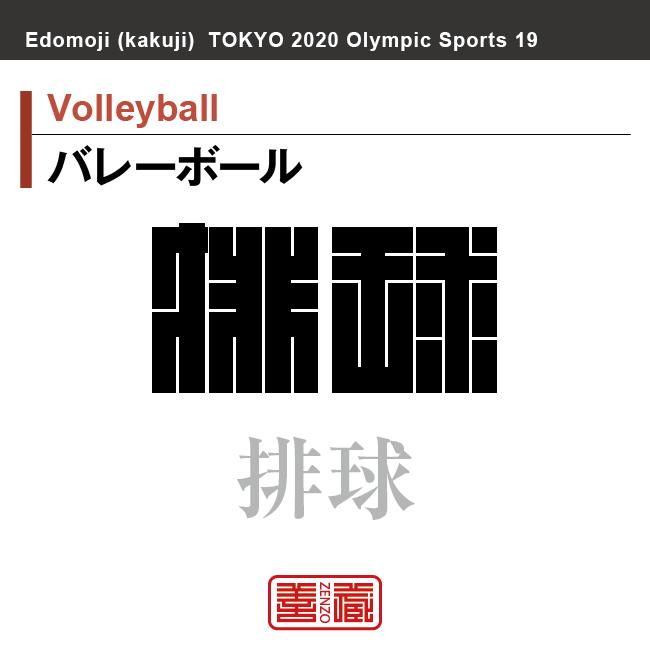 バレーボール Volleyball 排球